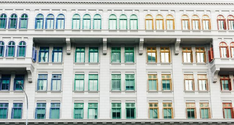 Coloured window frames