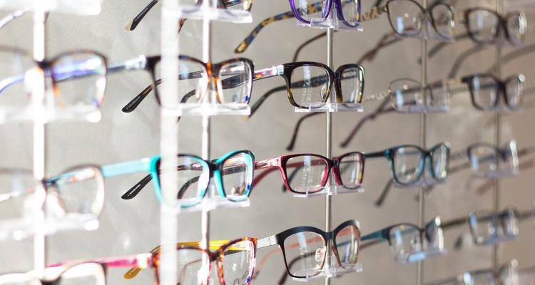 Rows of glasses